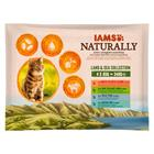 IAMS Naturally Cat Adult Mix - 12 x 85 g