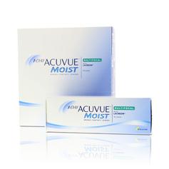 1-Day Acuvue Moist Multifocal, kertakäyttöiset piilolinssit 90 kpl