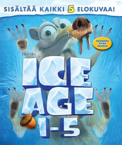 Ice Age 1-5 (Blu-Ray), elokuva
