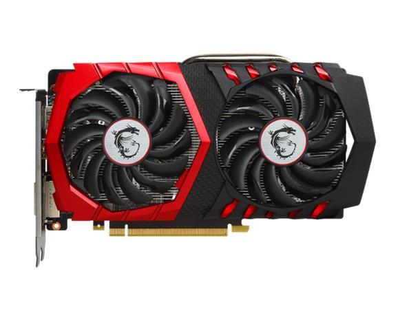 MSI GeForce GTX 1050 Ti Gaming X 4 GB, PCI-E, näytönohjain
