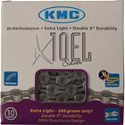 """KMC X-10-EL ketjut 1/2"""""""" x 11/128"""""""" 10-vaihteinen , hopea"""