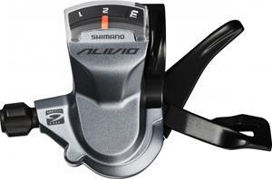 Shimano Alivio SL-M4000 vaihdekahva 3-vaihteinen vasen , harmaa