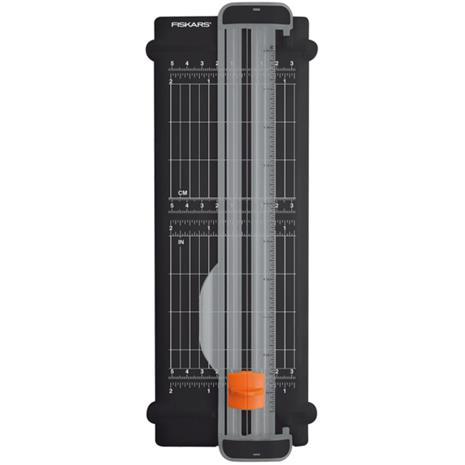Fiskars A5 SureCut Titaani, paperileikkuri kierrätysmateriaalista