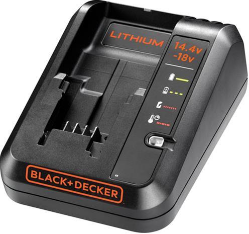 Black+Decker BDC1A 1A for 14,4V/18V Lithium-ion, pikalaturi