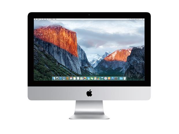 "Apple iMac 21.5"" 4K Retina MK452 (i5, 8 GB, 1 TB, OS X EL Capitan), pöytäkone"