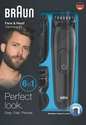 Braun Multi Grooming Kit MGK3020 Face & Head, monitoimitrimmeri