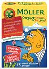 Möller Omega-3 Pikkukalat Hedelmä 72 kpl