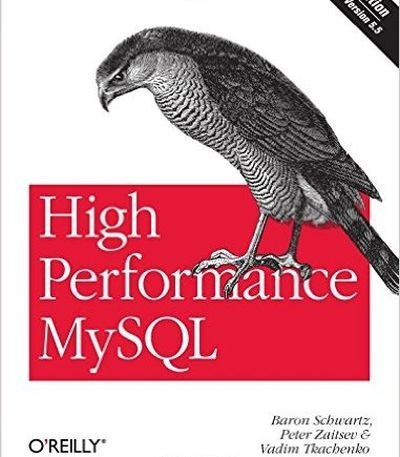 High Performance MySQL 3e, kirja