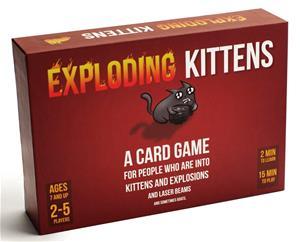 Exploding Kittens, korttipeli