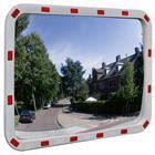vidaXL Convex Liikennepeili Heijastimilla Suoraikaide 60 x 80 cm