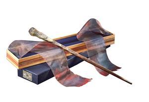 Ron Weasleyn taikasauva Ollivanderin laatikossa