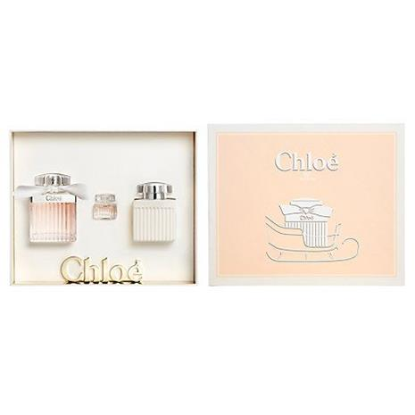 Chloé Signature - EDT 75 ml + Bodylotion 100ml + Miniature EDP 5 ml - Gift Set