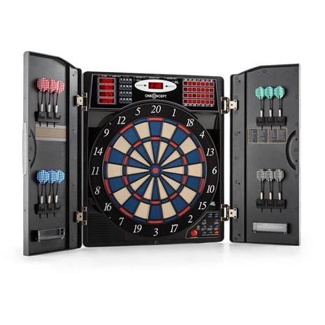 oneConcept Masterdarter darts-taulu darts-automaatti softtip ovet metallijäljitelmä