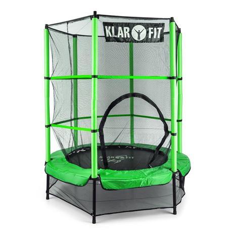 Klarfit Rocketkid trampoliini 140 cm vihreä