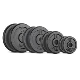 CAPITAL SPORTS IPB 37,5 kg Set Gewichtsscheibenset 30MM
