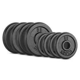 CAPITAL SPORTS IPB 15kg Set Gewichtsscheibenset 4 x 1,25 kg + 4 x 2,50 kg 30 mm