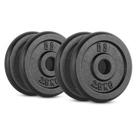 CAPITAL SPORTS IPB 10 kg Set Gewichtsscheibenset 4 x 2,5 kg 30 mm