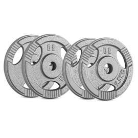 CAPITAL SPORTS IP3H 15 kg Set Gewichtsscheibenset 2 x 2,5 kg + 2 x 5 kg 30 mm