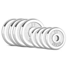 CAPITAL SPORTS CP 15 kg Set Gewichtsscheibenset 4 x 1,25 kg + 4 x 2,5 kg 30 mm