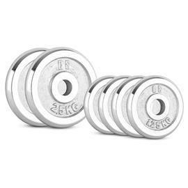 CAPITAL SPORTS CP 10 kg Set Gewichtsscheibenset 4 x 1,25 kg + 2 x 2,5 kg 30 mm