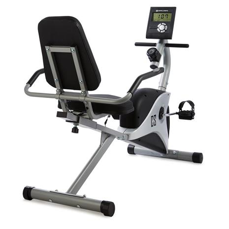 CAPITAL SPORTS Swizor X Sitz-Ergometer 4 kg Schwungmasse Pulssensor grau