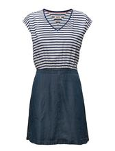 Hilfiger Denim Thdw Mix Fabric Dress S/S 20 13927851