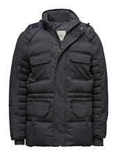 Mango Man Feather Down Hooded Coat 14610111