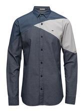 Hilfiger Denim Thdm Reg Colorblock Shirt L/S 19 13981535