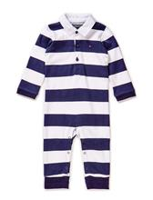 Tommy Hilfiger Rugby Baby Boy Coverall L/S 11356225
