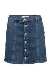 Mango Buttoned Denim Skirt 14763086