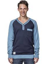 Horsefeathers Luke T-paita blue / sininen Miehet