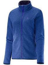 Salomon Bise Fleece Jacket mazarine blue / sininen Naiset