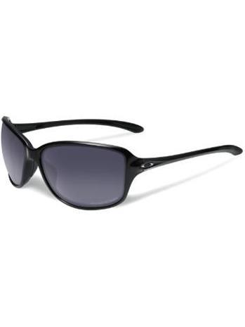 Oakley Cohort Polished Black grey gradient polarized / musta Naiset