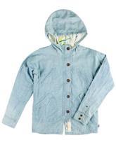 Burton Flack Jacket Girls chambray / sininen Tytöt