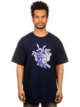 Crooks & Castles Ceramic Medusa T-Shirt navy / sininen Miehet