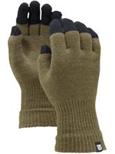 Burton Touch N Go Knit Liner Gloves heathered keef / vihreä Miehet