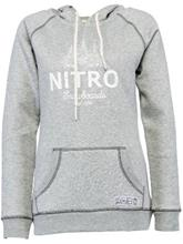 Nitro Forest Huppari heather grey / harmaa Naiset