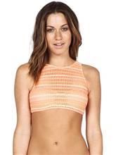 Volcom Wildly Bare Crop Bikini Top sparkler / oranssi Naiset