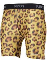 Burton Luna Tech Shorts Suojahousut cats meow / oranssi Naiset