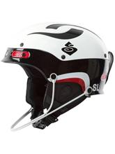 Sweet Protection Trooper SL Helmet gloss white / gloss black / kuvioitu Miehet