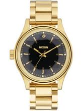 Nixon The Facet 38 Rannekello gold / black / ruskea Naiset