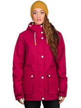 Colour Wear Ida Takki burgundy / punainen Naiset