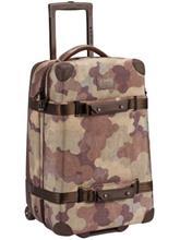 Burton Wheelie Cargo Travelbag storm camo print / ruskea