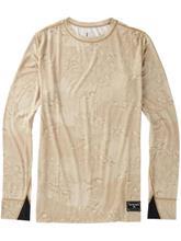 Burton Midweight Wool Crew Tekninen paita LS hawaiian desert / ruskea Miehet