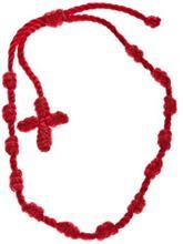 mint Tutti Frutti Plain Cross Bracelet red / punainen Naiset