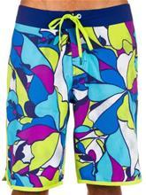 Volcom Floral Lines Boardshorts tidal blue / sininen Miehet