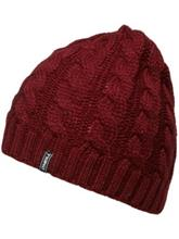 O'Neill Classic Cable Beanie cabernet / punainen Naiset