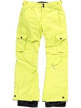 O'Neill Newton Poikien housut poison yellow / keltainen Jätkät