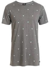 Rip Curl Mysto Peak Tall T-paita grey / harmaa Miehet