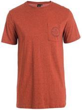 Rip Curl Zinc Pocket T-Shirt rusty brass mar / punainen Miehet